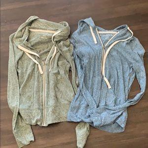 Aeropostale zip up hoodies M. Never worn. New